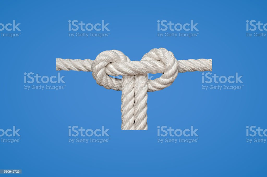 Slipped Square Knot stock photo