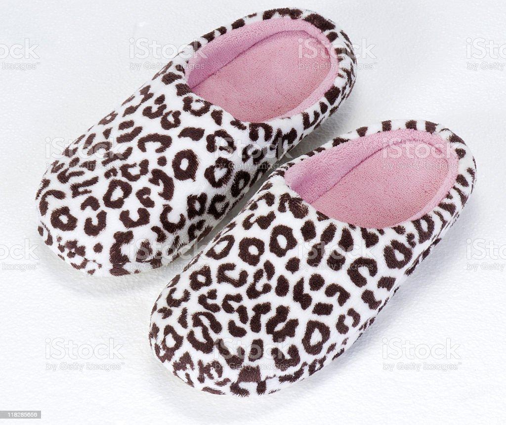 slipper royalty-free stock photo