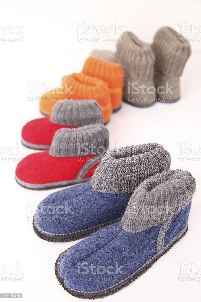Slippers stock photo