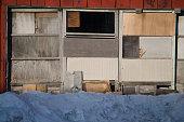 Slippery sliding doors