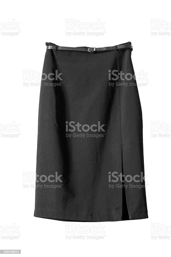 Slit skirt stock photo