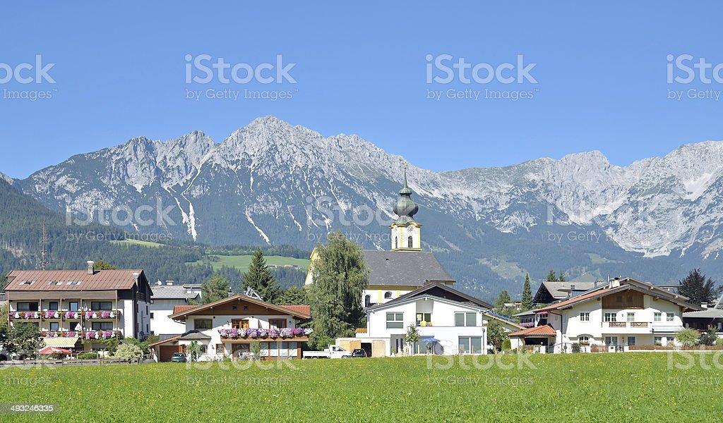 S?ll,Tirol,Austria stock photo
