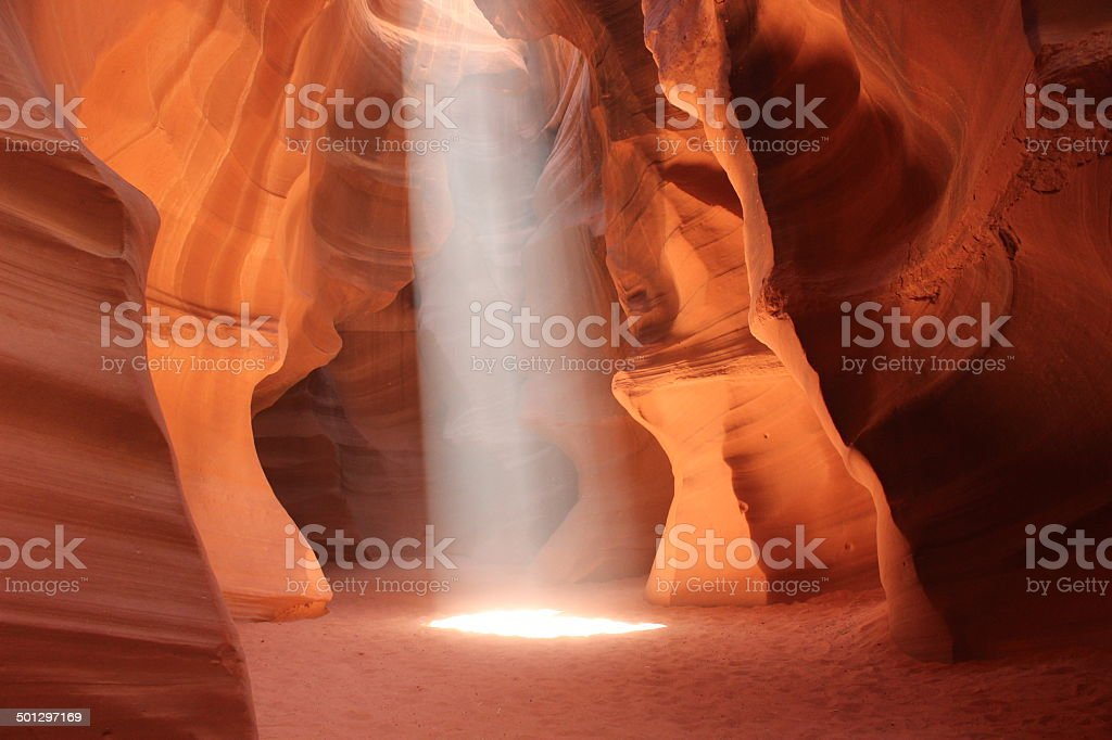 Slot Canyon stock photo