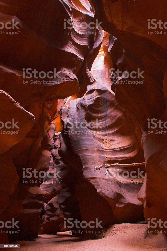 Slot canyons of American Southwest royalty-free stock photo
