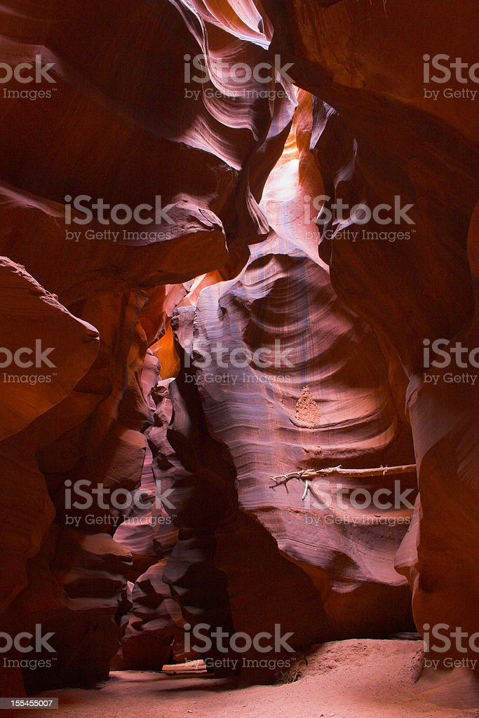 Slot canyons of American Southwest stock photo