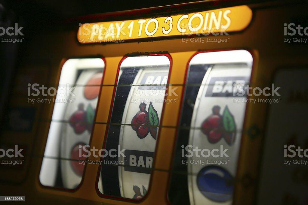 Slot Machine royalty-free stock photo