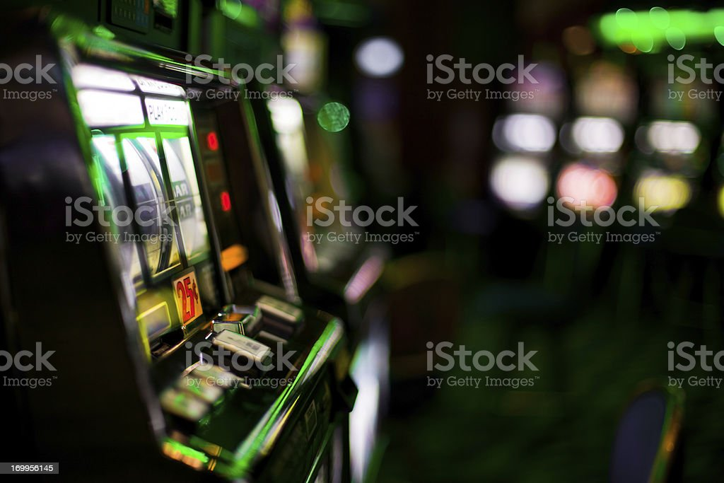 Slot Machines royalty-free stock photo