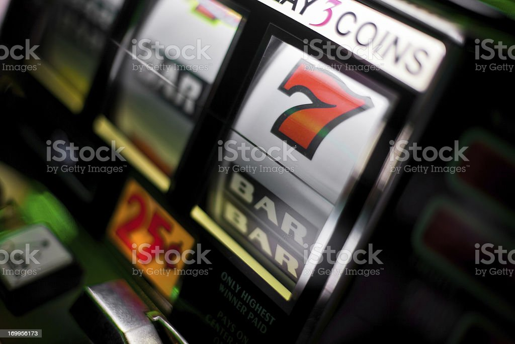 Slot Machines royalty-free stock photo