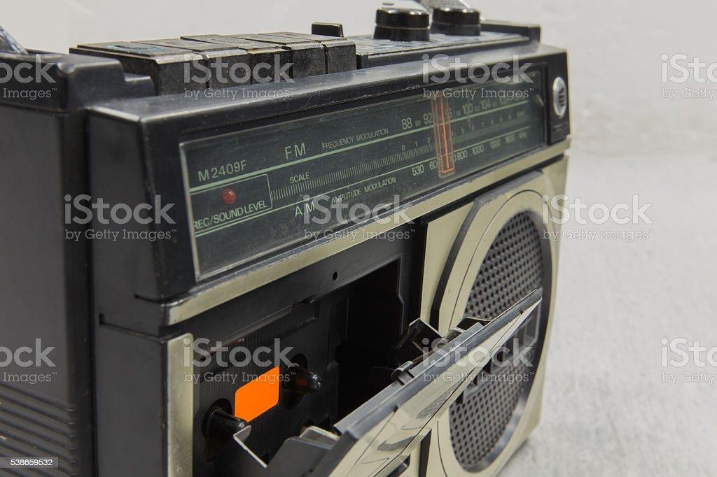 slot radio stock photo