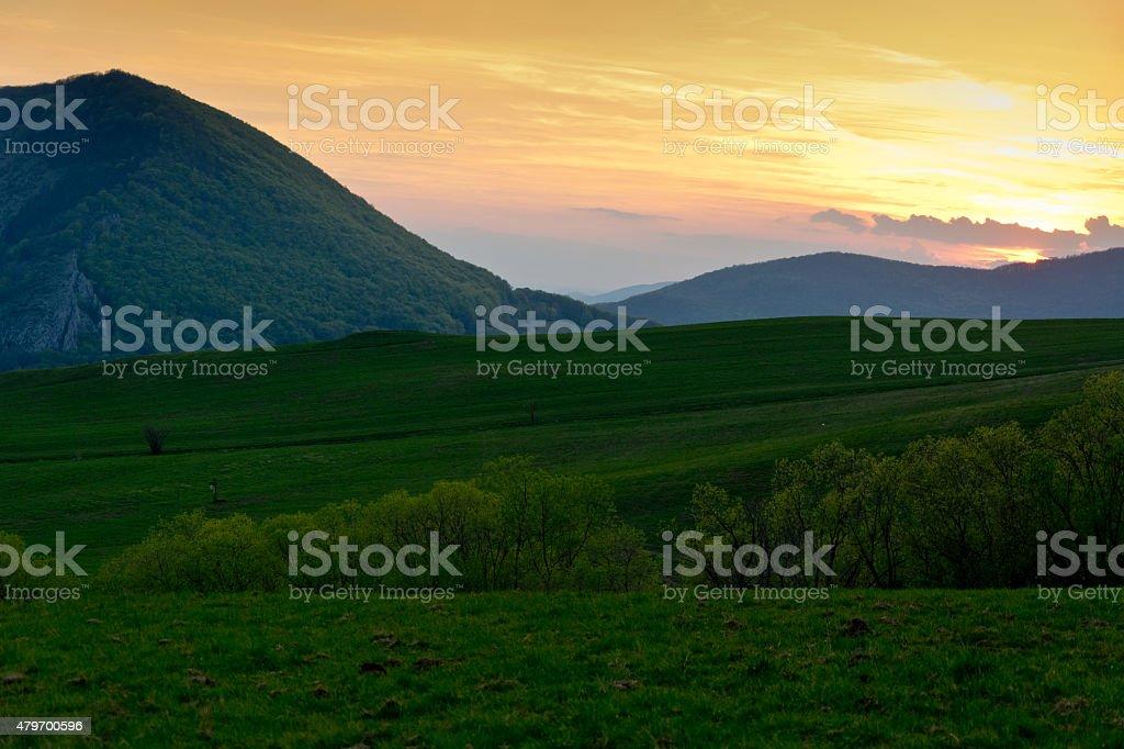 Eslovaco Karst foto de stock libre de derechos