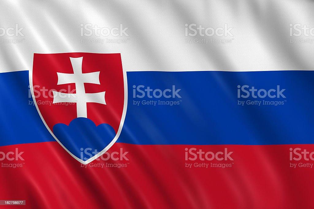 slovakia flag stock photo