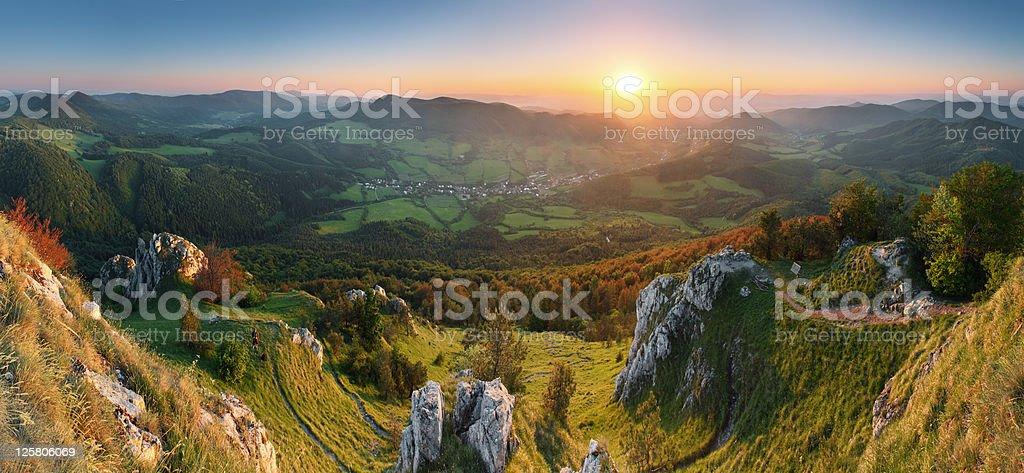 Slovakia mountain Vapec royalty-free stock photo