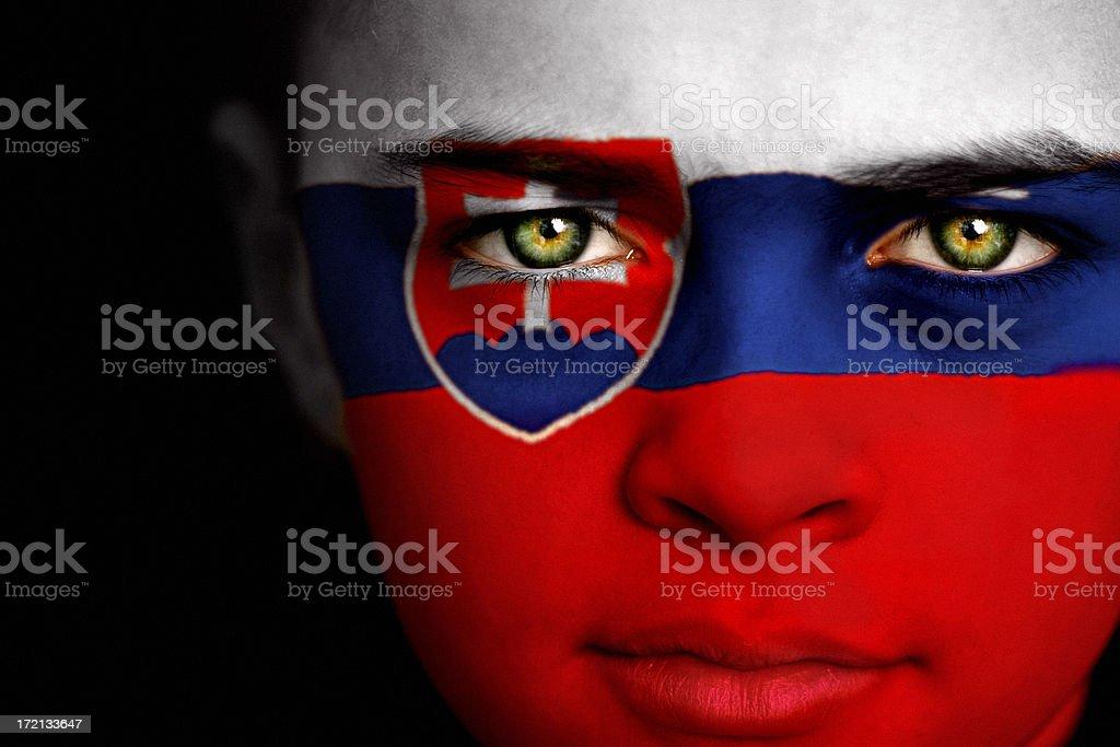 Slovakian Boy stock photo