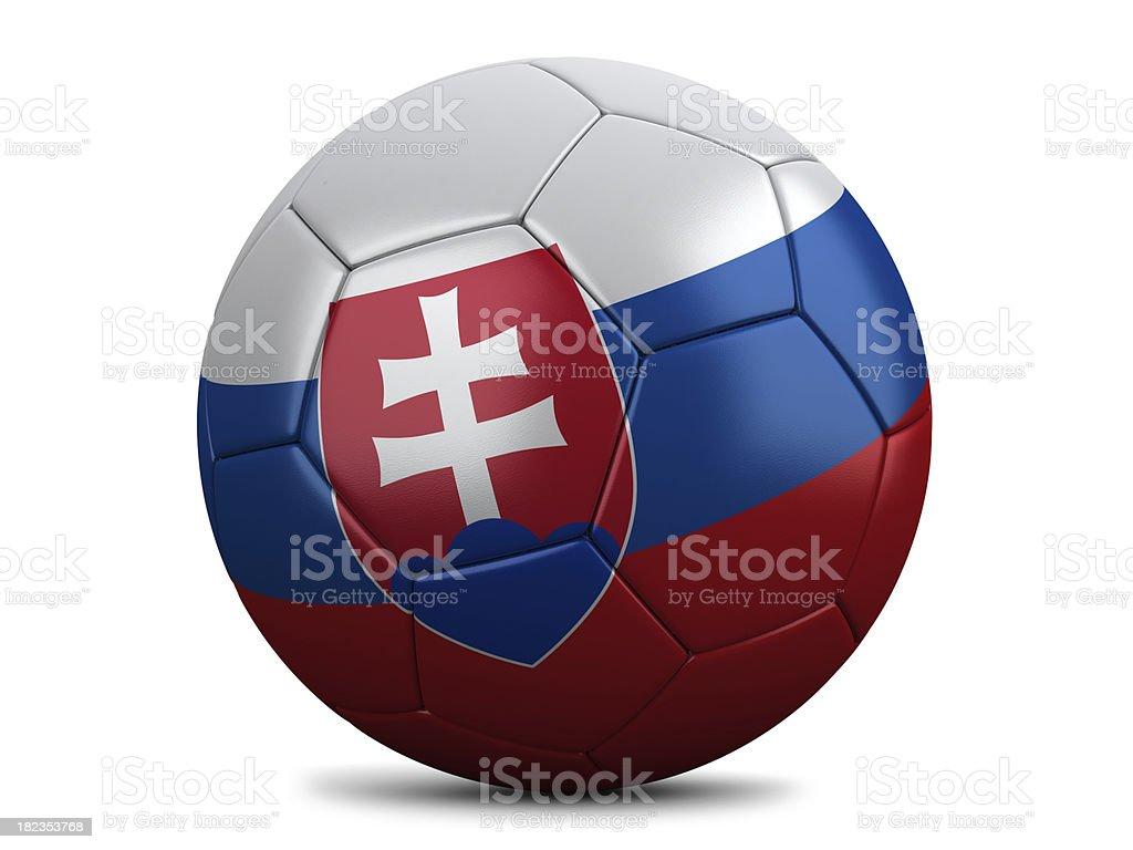 Slovakian Football stock photo