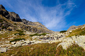 Slovakian Mlynicka dolina Tatra landscape