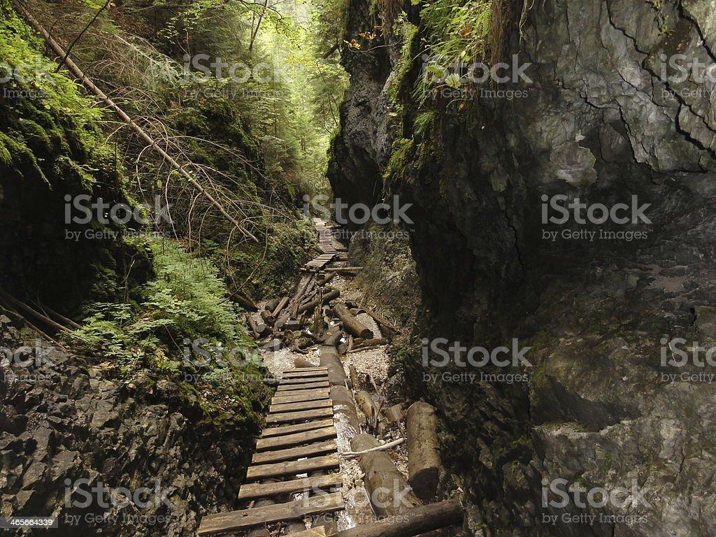 Slovakian Paradise stock photo
