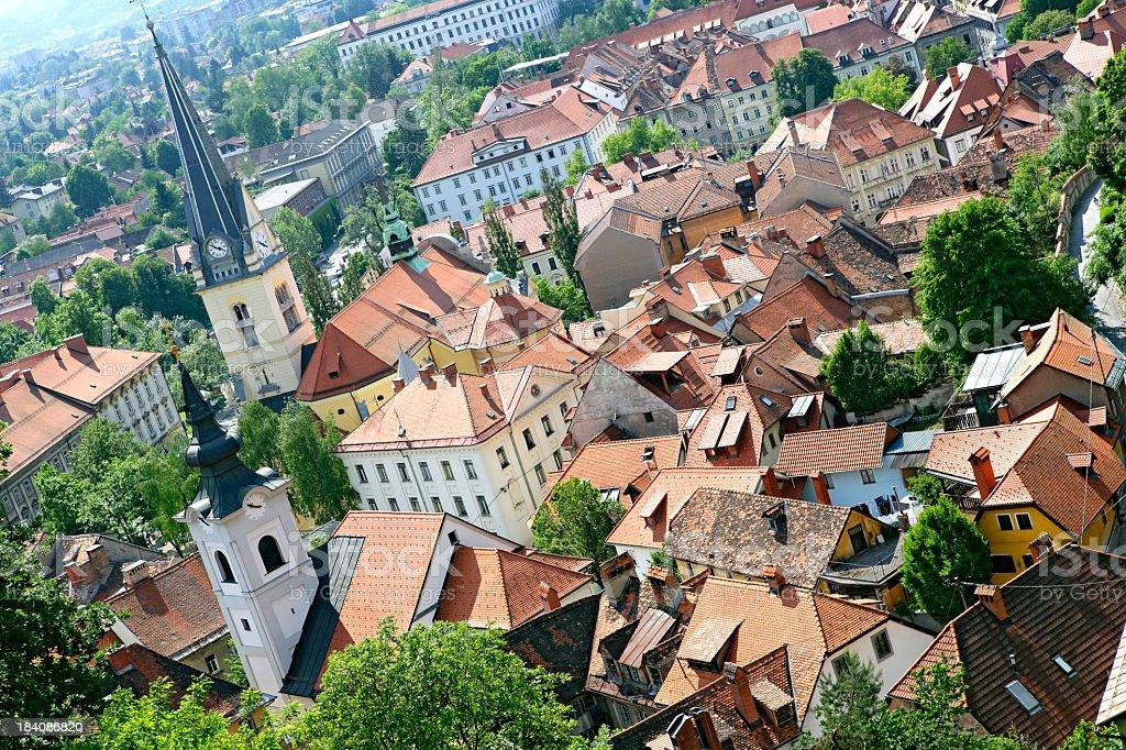 Slovenia: Ljubljana royalty-free stock photo