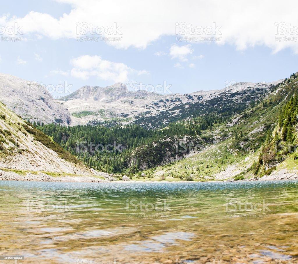 Slovenia mountains stock photo