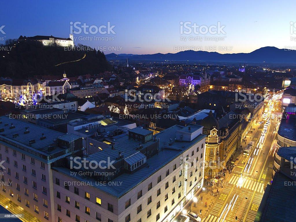Slovenska street royalty-free stock photo