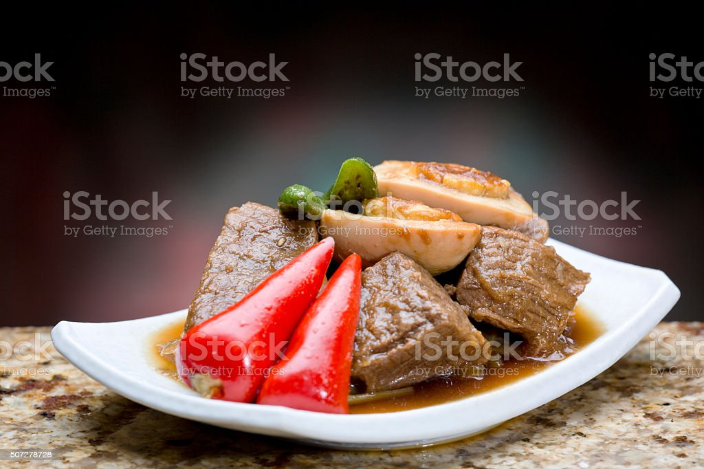 Slow Cooked Meat stock photo