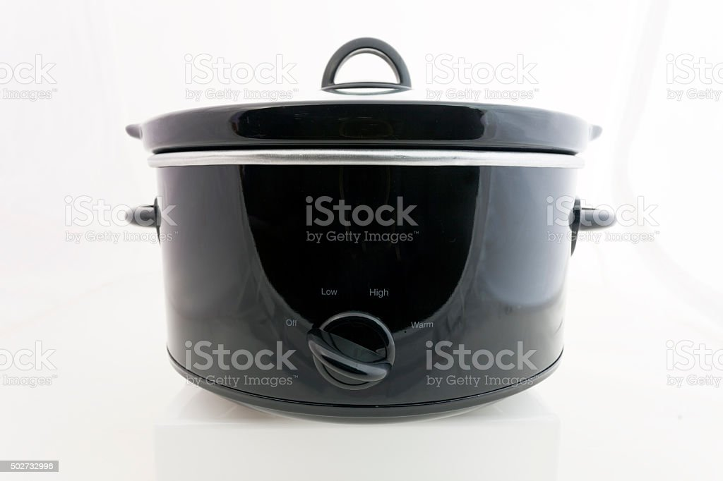 Slow Cooker Kitchenware stock photo