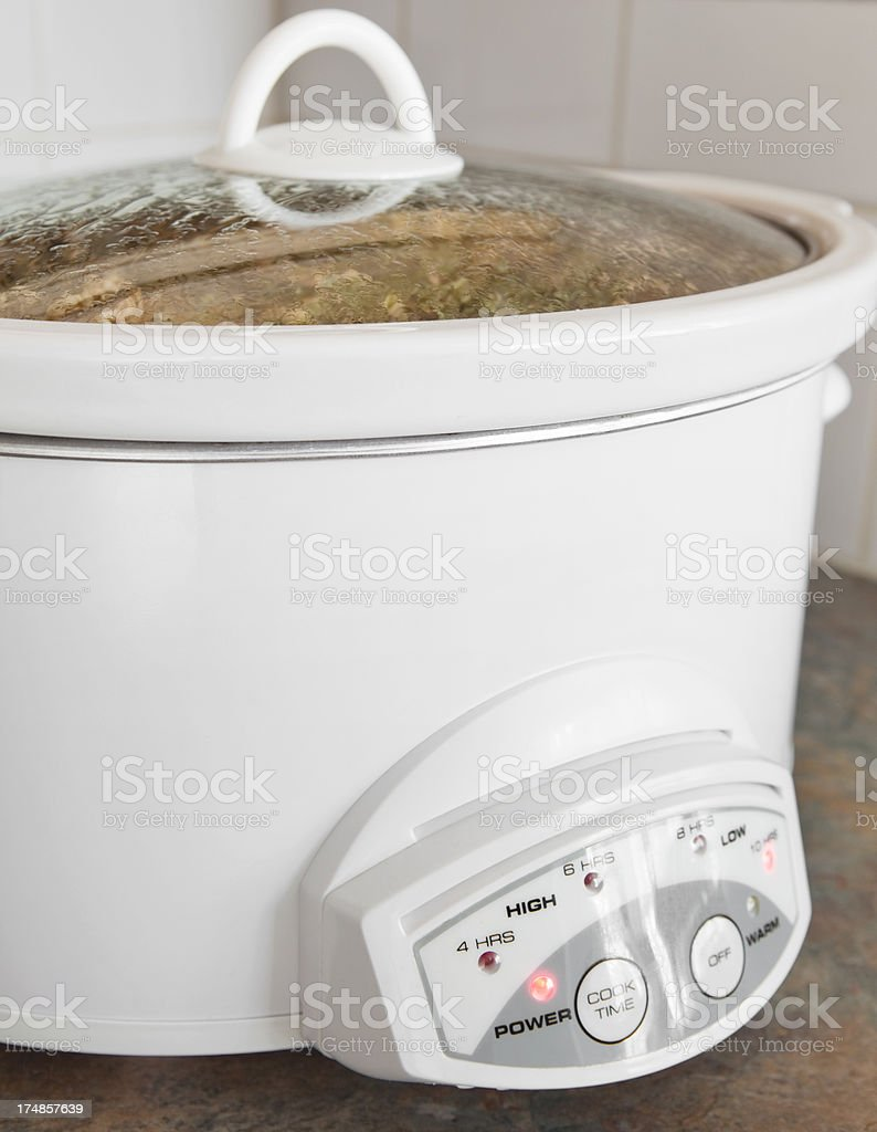 Slow Cooker royalty-free stock photo