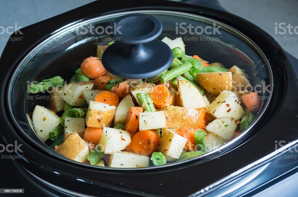 Slow Cooking stock photo