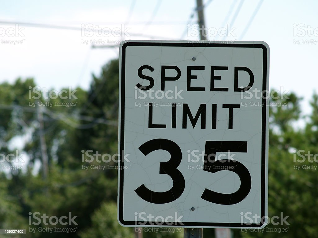 Slow Down royalty-free stock photo