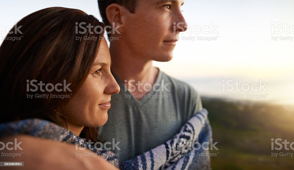 Slow it down and savor the moment stock photo