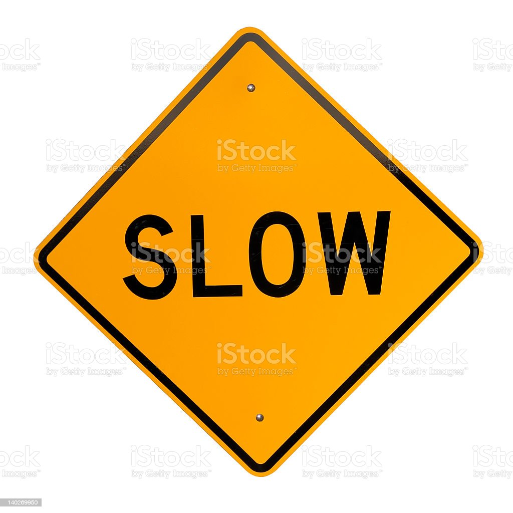 Slow stock photo