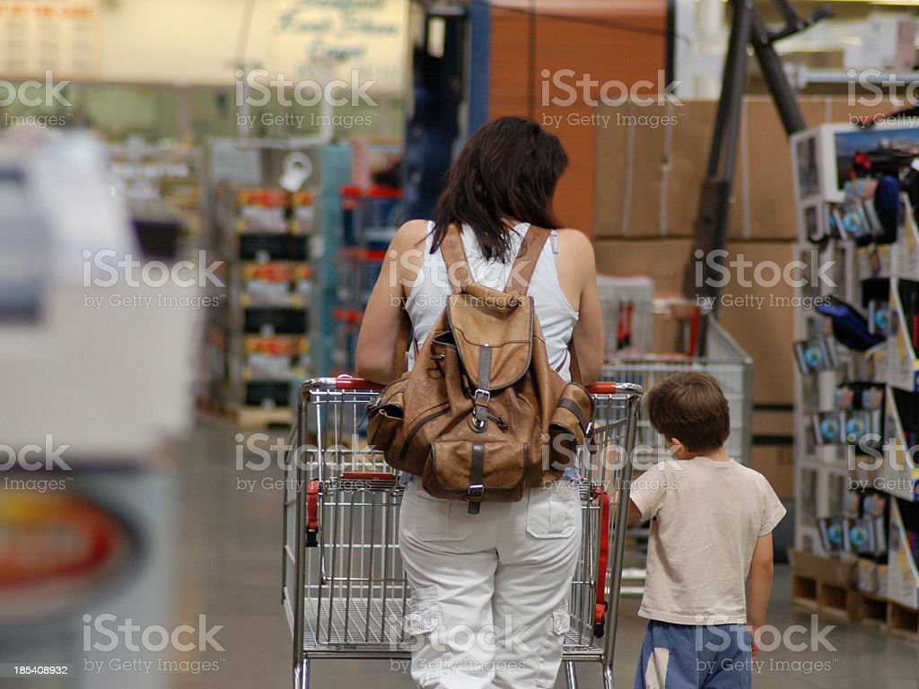 Slow Shopping Cruise royalty-free stock photo