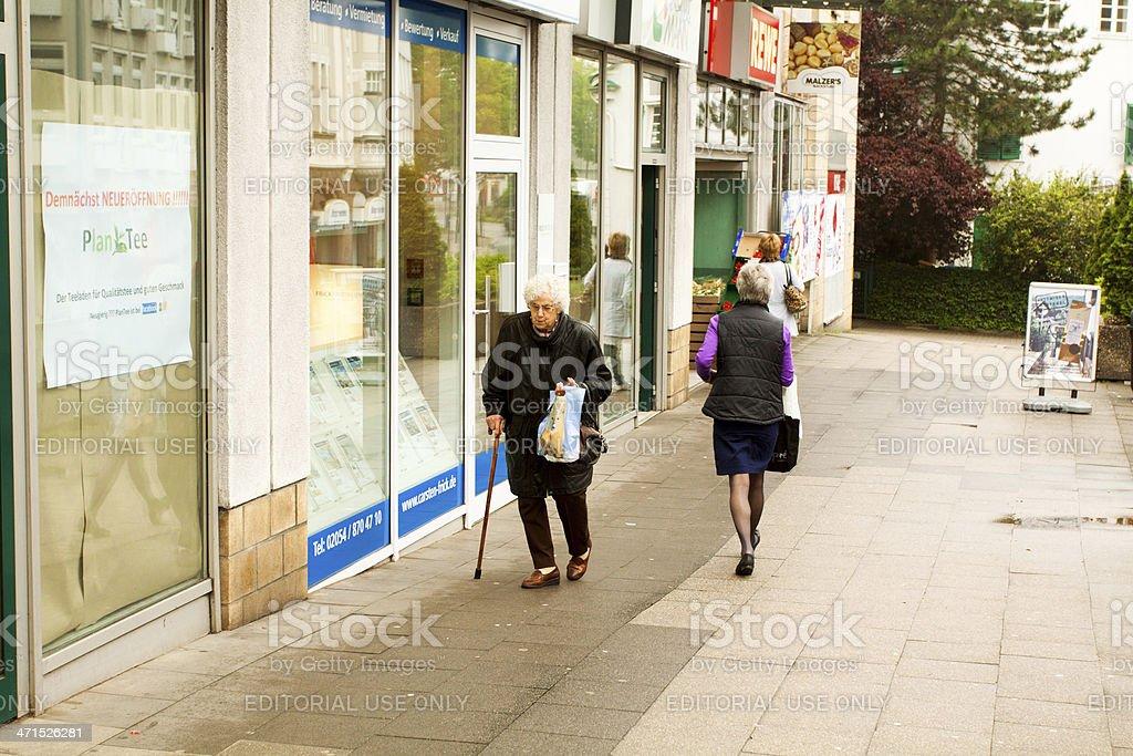Slow walk royalty-free stock photo