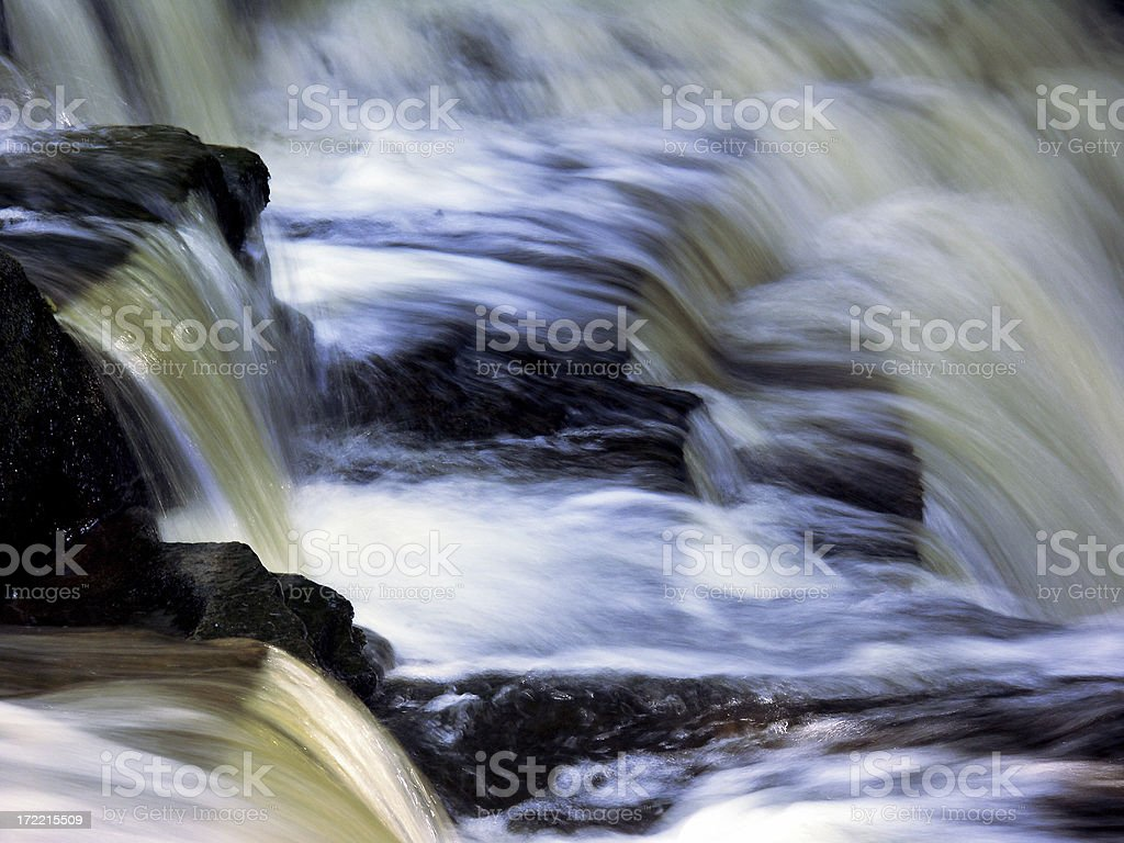 Slow Water royalty-free stock photo