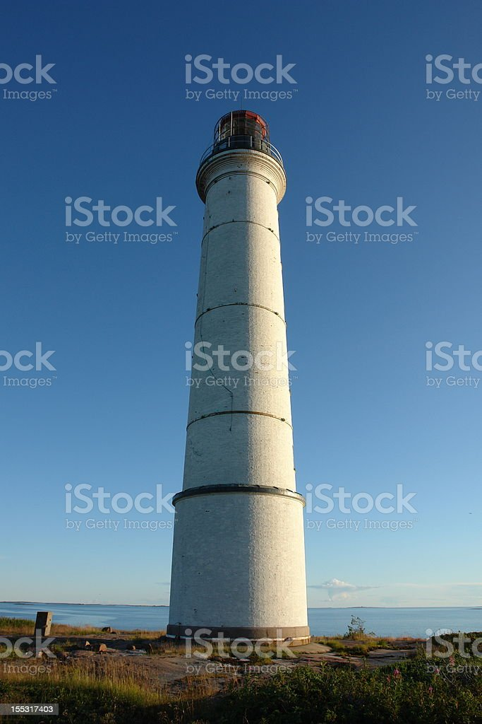 S?lsk?r Lighthouse stock photo