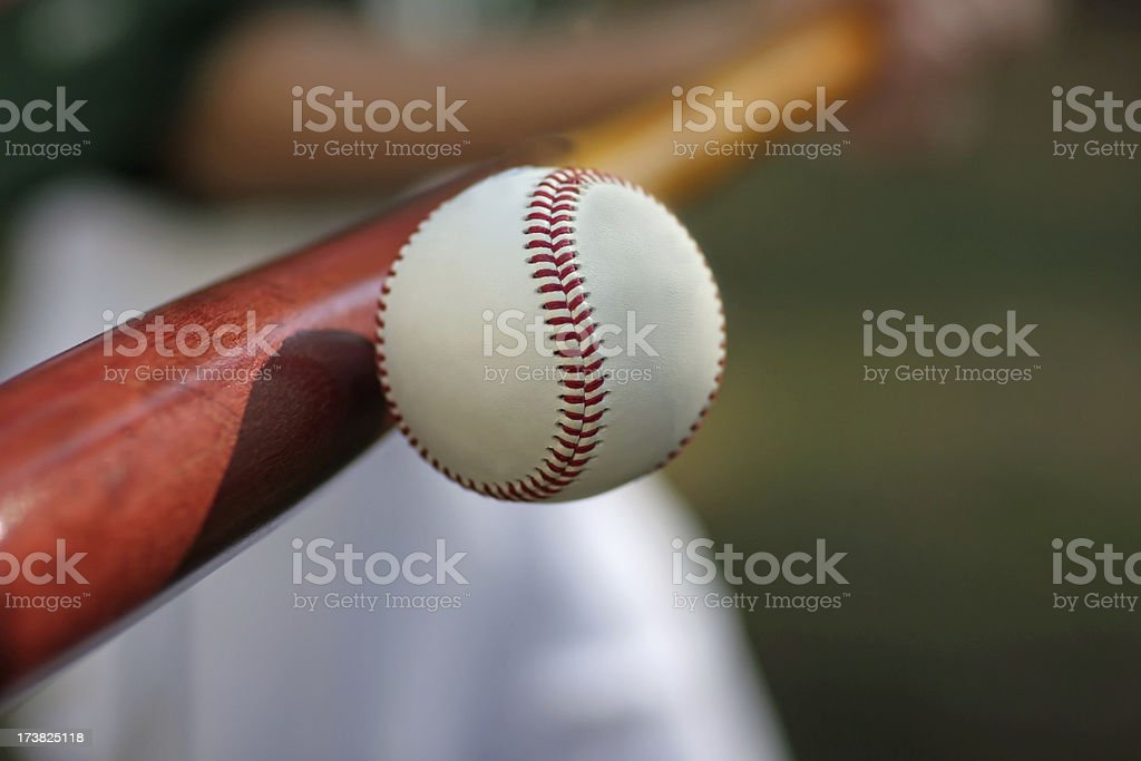 Slugger royalty-free stock photo