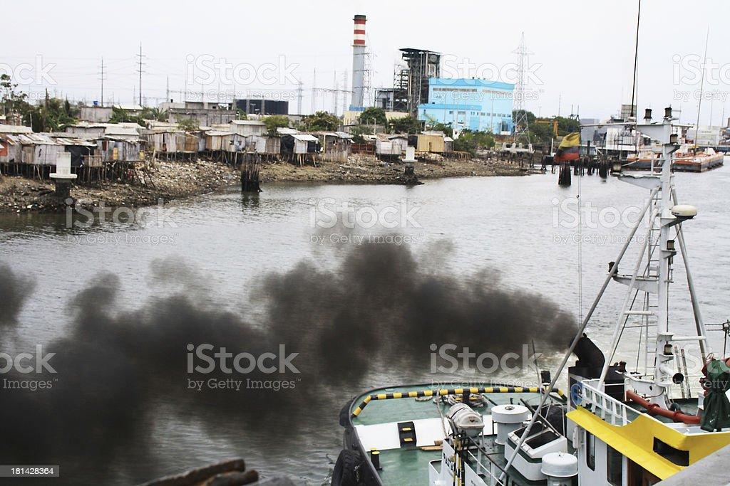 Slum - Panama stock photo