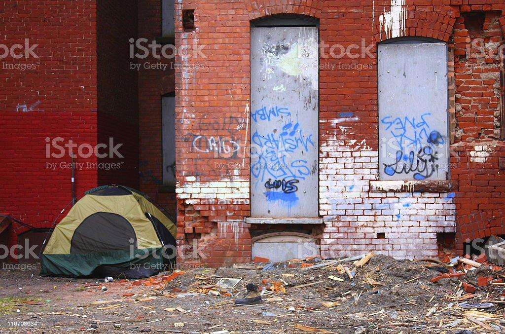 Slum stock photo