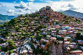Slum Zone In Caracas, Venezuela