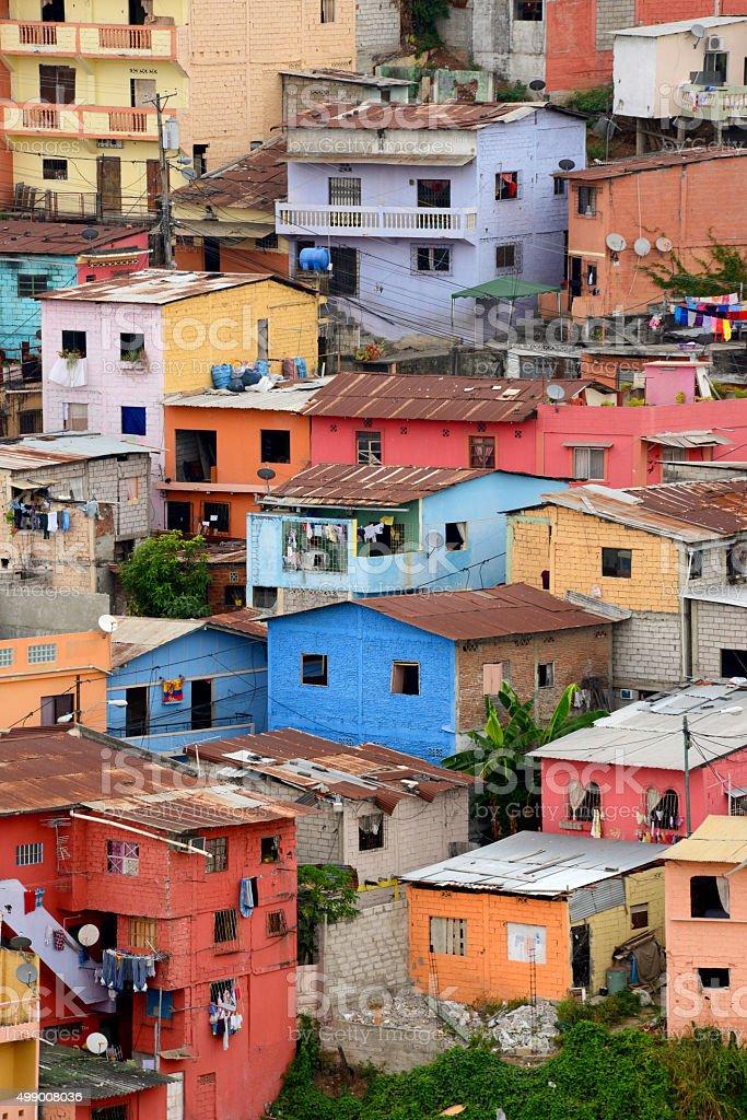 Slums stock photo