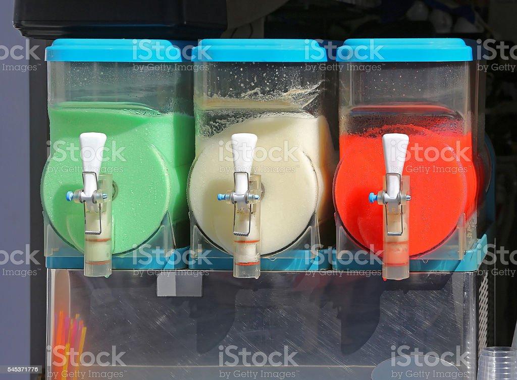 Slush Machine stock photo