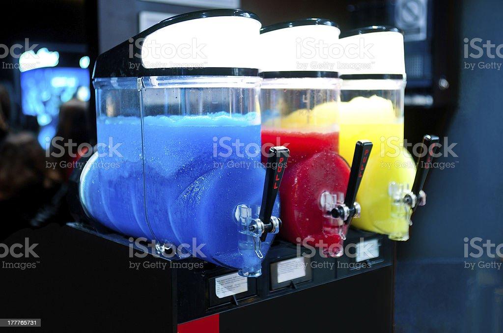 slushy machine stock photo