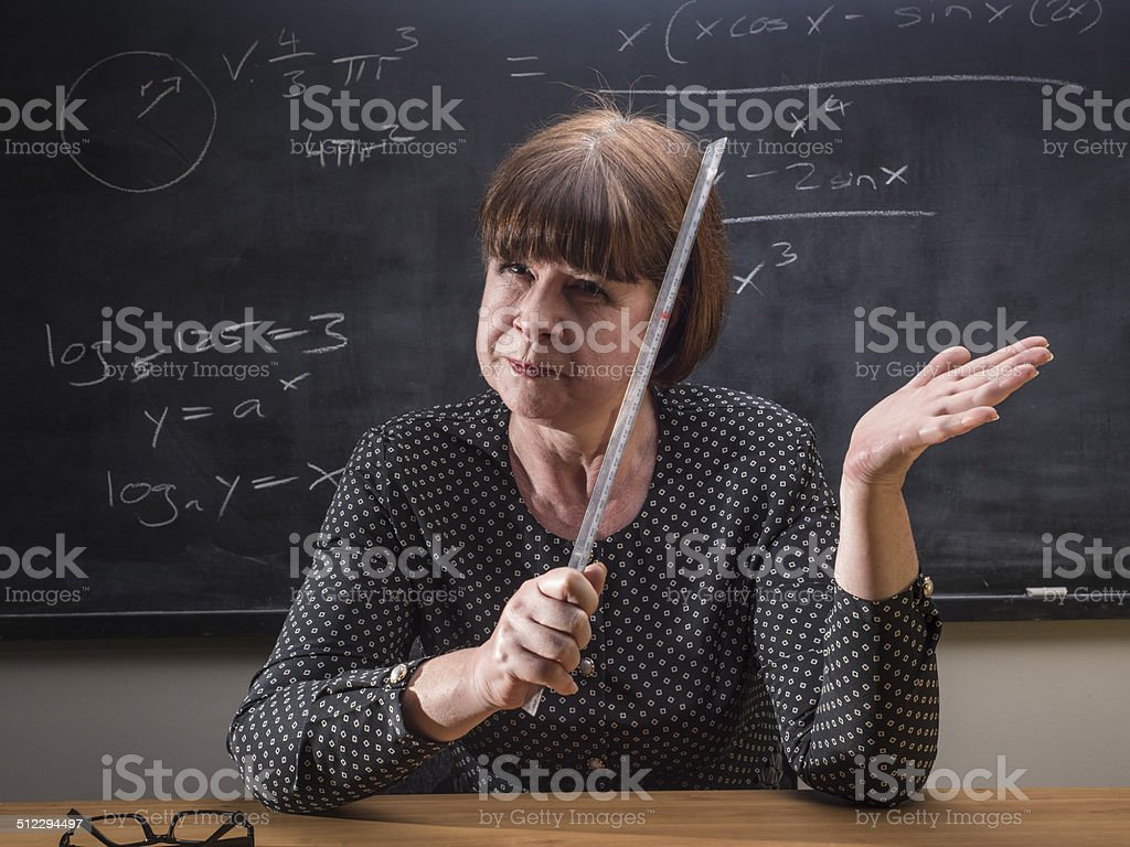 Smacking time stock photo