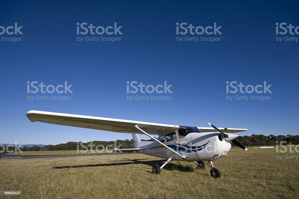 Small aircraft royalty-free stock photo