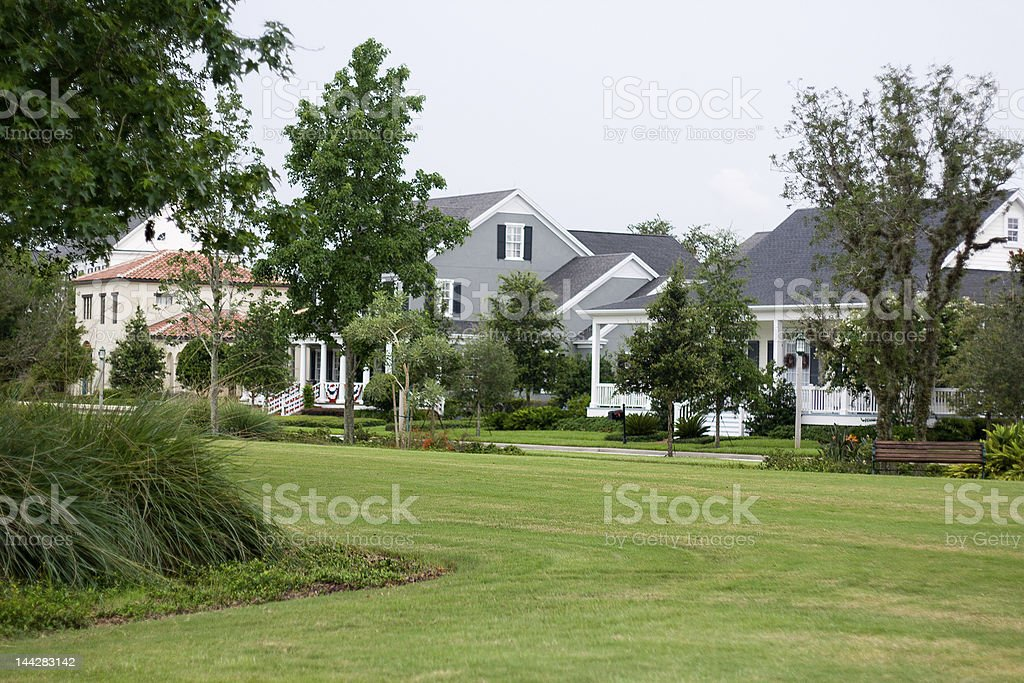 Small American Town royalty-free stock photo