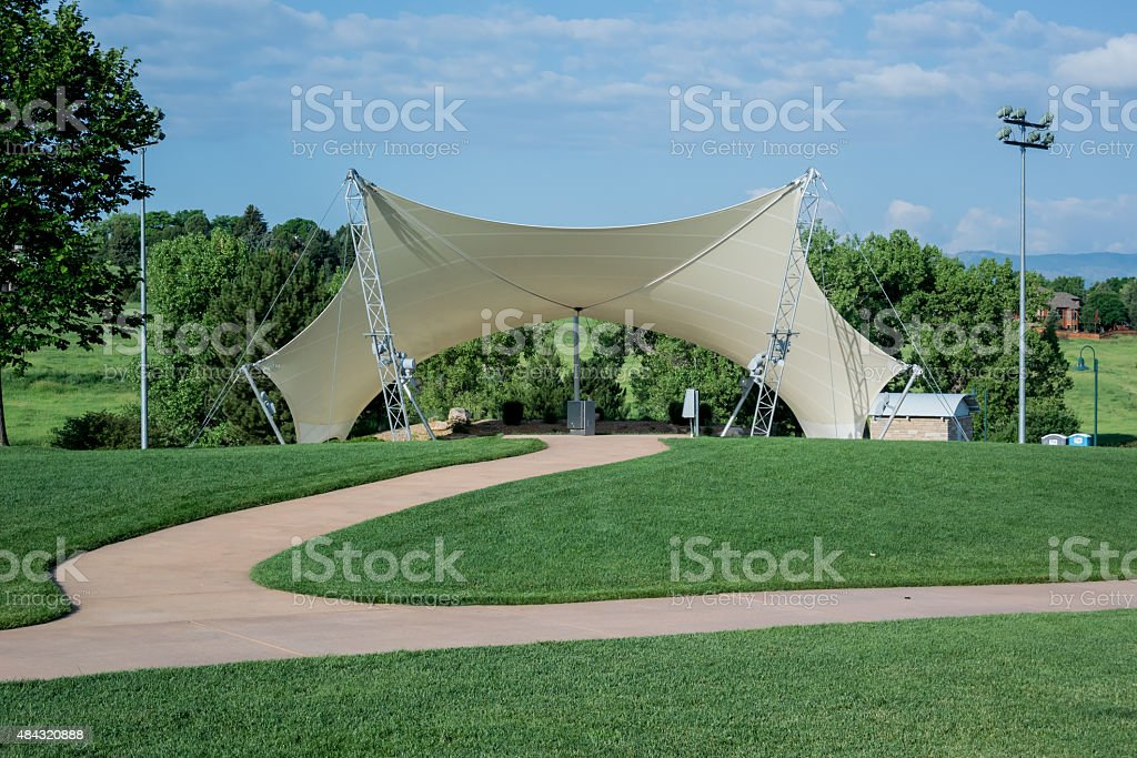 Small Amphitheatre stock photo