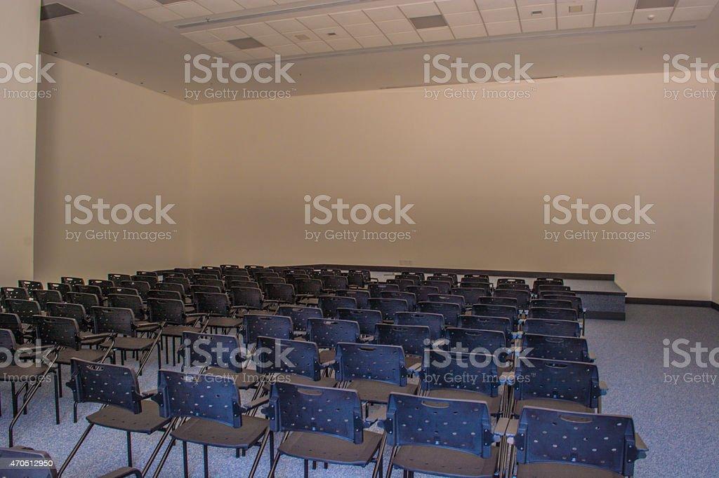 small auditorium stock photo