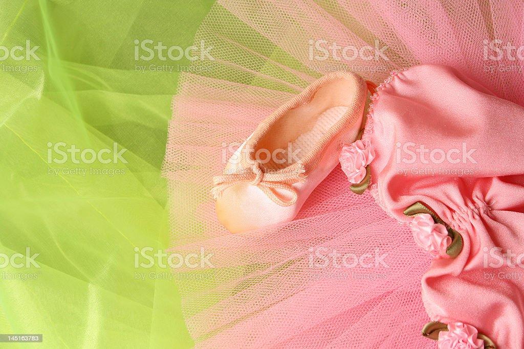 Small Ballerina Tutu royalty-free stock photo