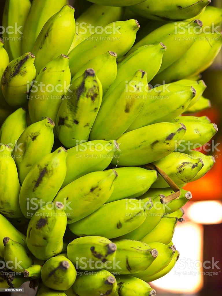 small bananas stock photo