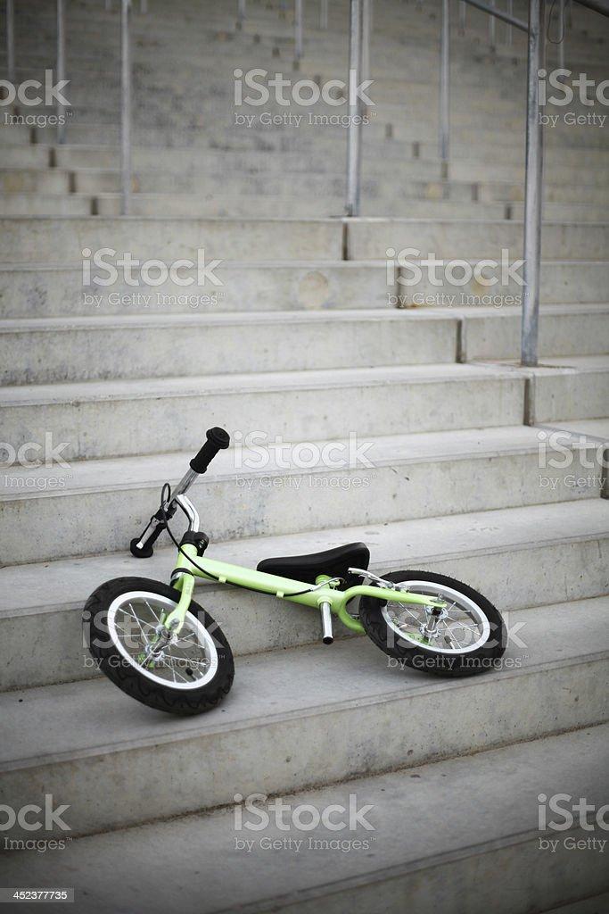 Small bike royalty-free stock photo
