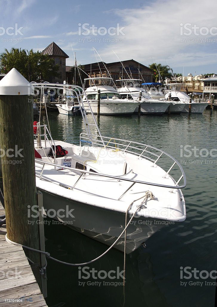 Small Boat Haven royalty-free stock photo